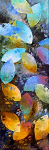 Feuilles multicolores - Beatrice BEDEUR