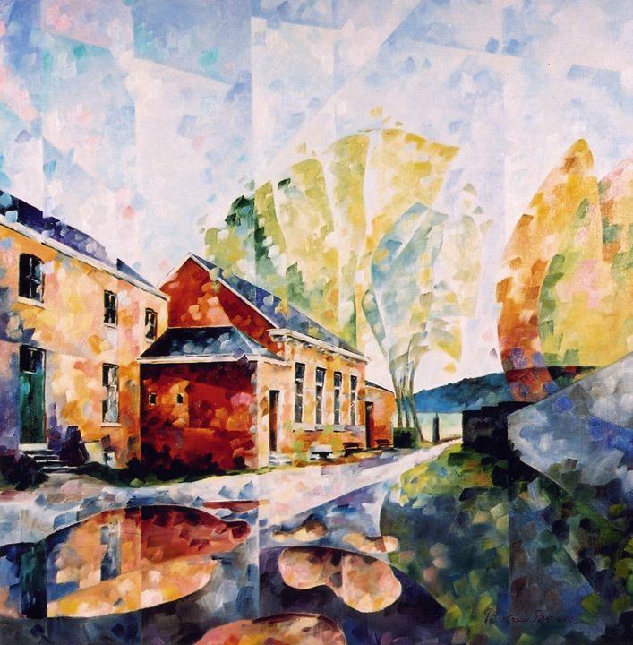 L'atelier du peintre a Saint Roch - Beatrice BEDEUR