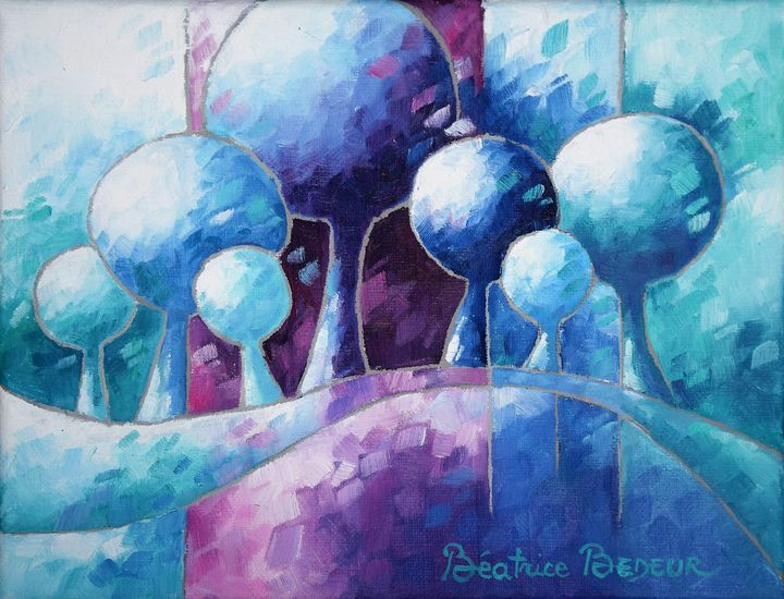 Rêves bleu - Beatrice BEDEUR