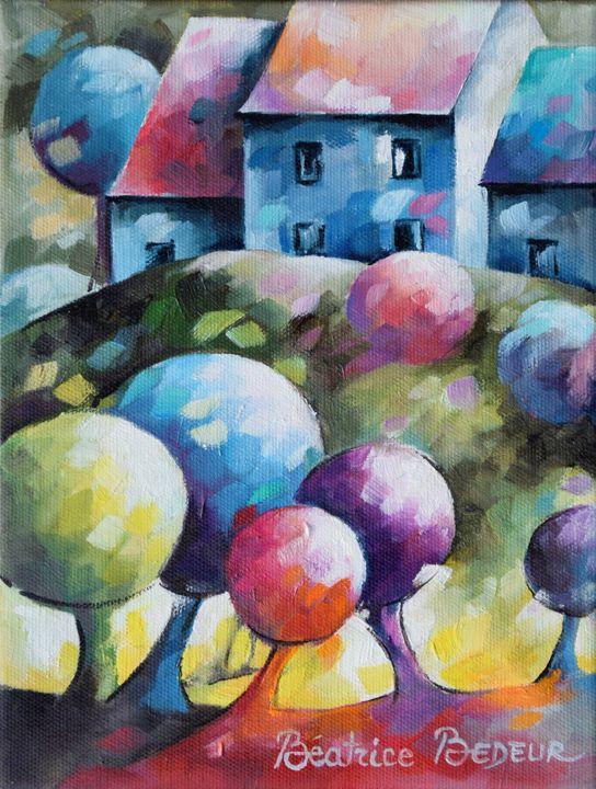 Maisons dans la forêt - Beatrice BEDEUR