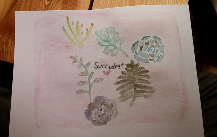 Succulent Art - MillsArtistry