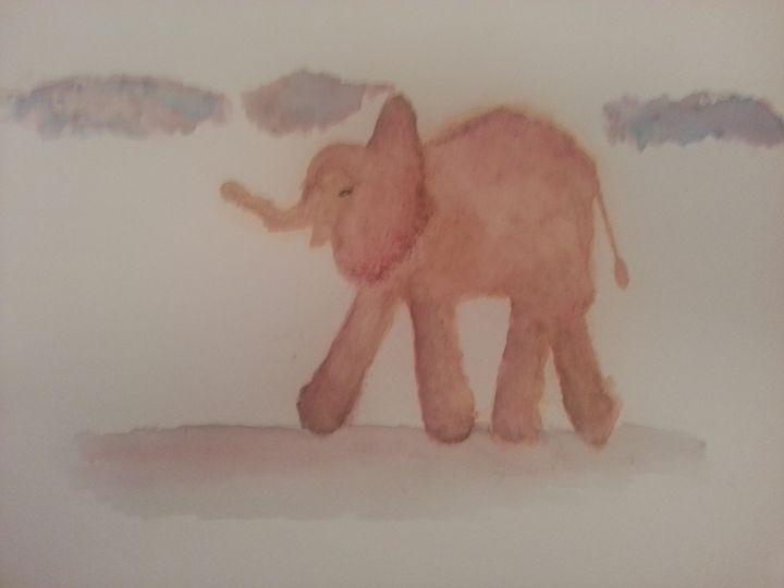 Baby Elephant - MillsArtistry