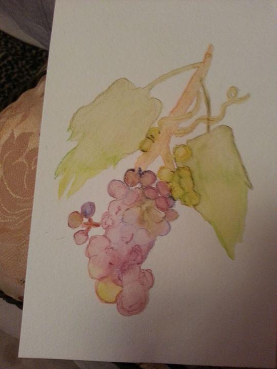 Abstract Grapes - MillsArtistry