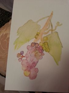 Abstract Grapes