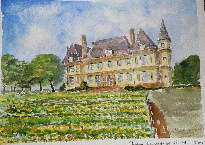 Chateau Rousseau de Sipian MEDOC - Dupicard