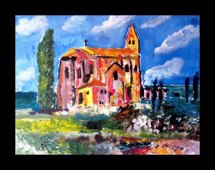 eglise de Sainte Marthe - Dupicard