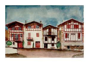 Ainhoa au Pays Basque Français