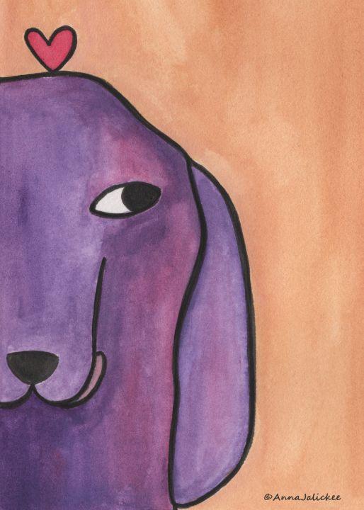Violet - Animals Art Visions