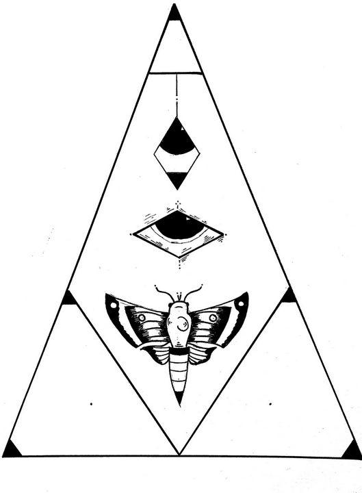 Moth Eye Piece - MUSINK DESIGN