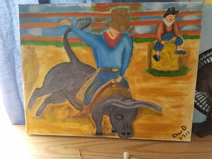 Bull rider - CHAR.D