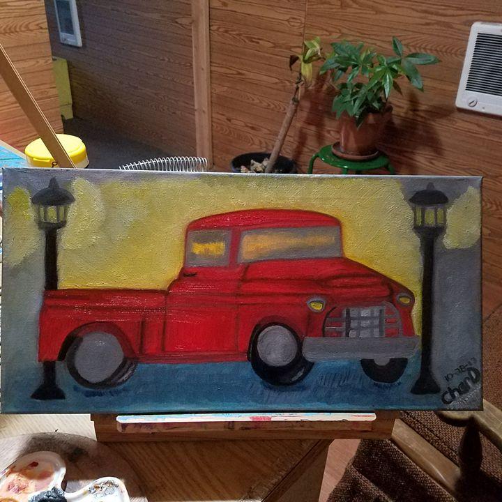 Vintage truck - CHAR.D