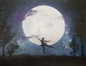 Ballerina On The Moon