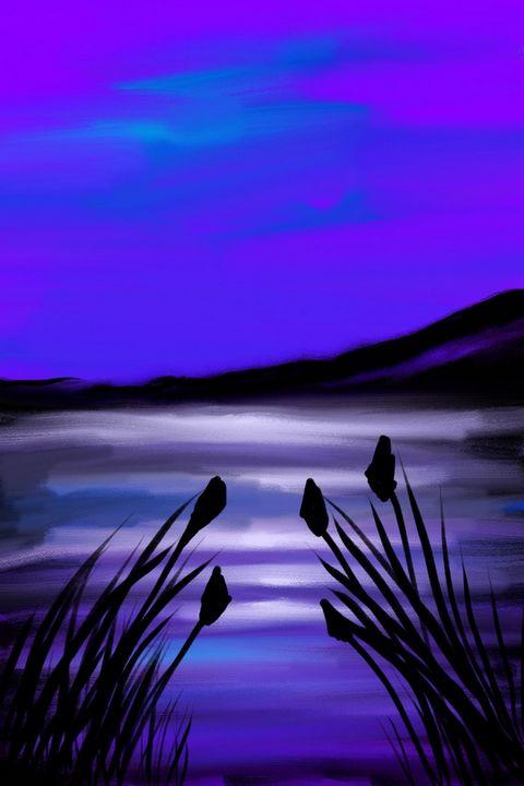 Purple Peace - Moore Than Art