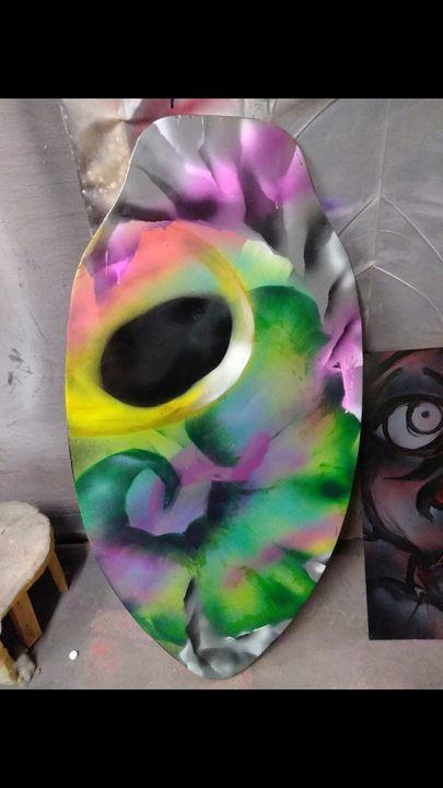 Custom spray skin board - jbassbox