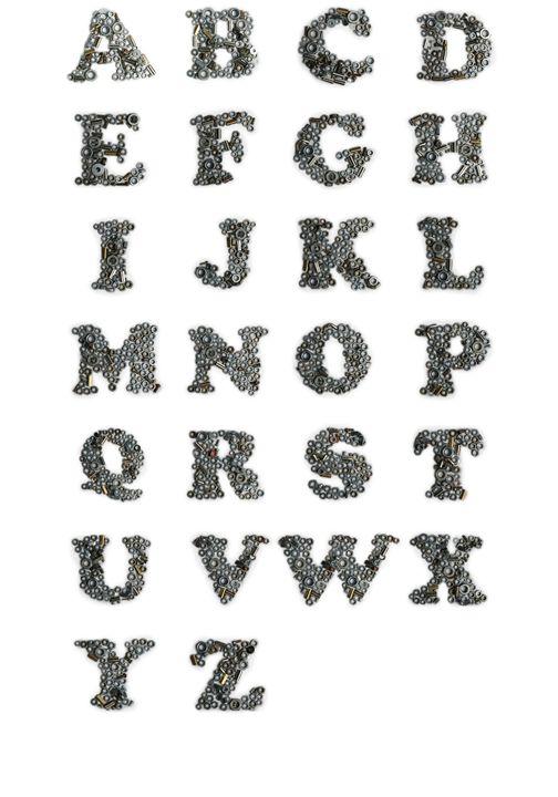 Iron alphabet -  Richard.ernst49