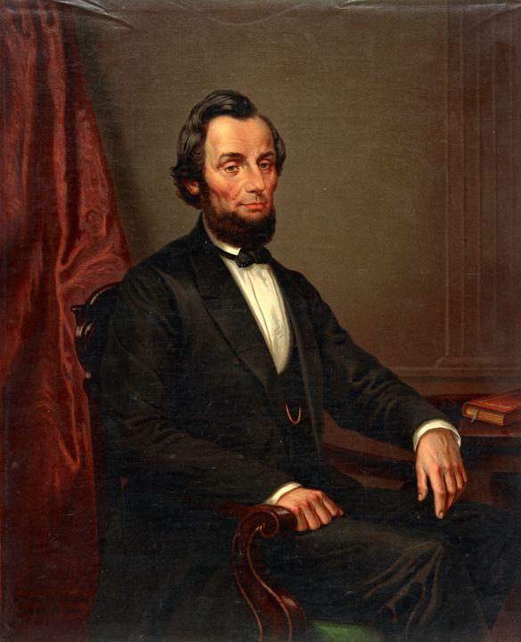 President Abraham Lincoln Portrait - Yvonne