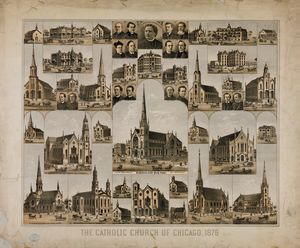 The Catholic Church of Chicago 1876