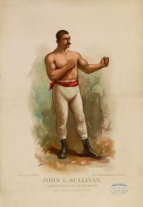 John L. Sullivan Champion Pugilist