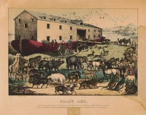 Noah's Ark by Currier & Ives 1868-78