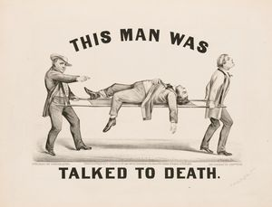 This Mas Was Talked To Death (1873)