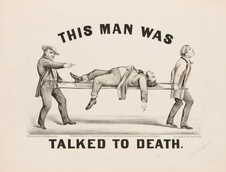 This Mas Was Talked To Death (1873) - Yvonne