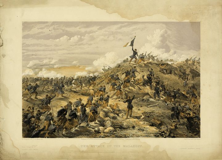 The Attack on the Malakoff (1855) - Yvonne
