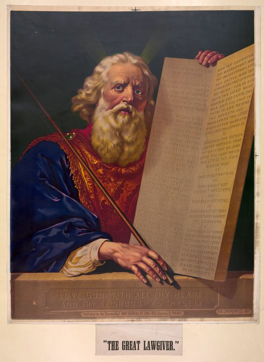 The Great Lawgiver, Moses - Yvonne