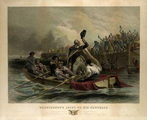 Washington's Adieu to his Generals