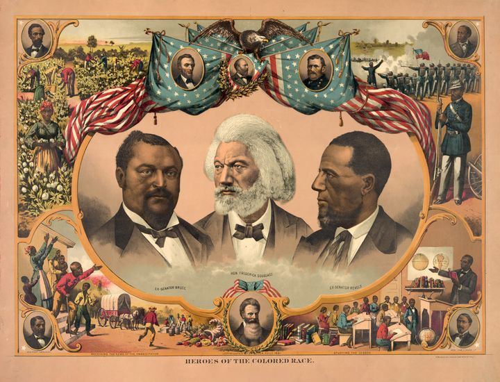 Heroes of the Colored Race (1881) - Yvonne