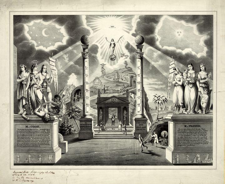 Masonic Chart (1846) - Yvonne