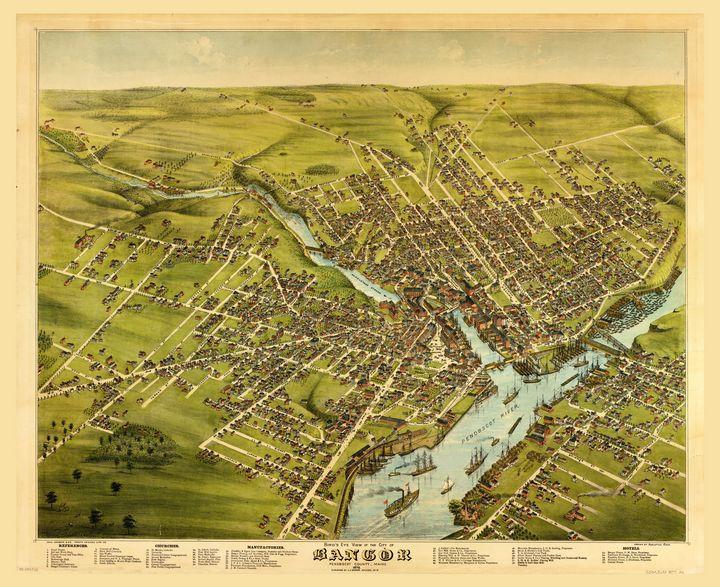 City of Bangor, Maine (1875) - Yvonne