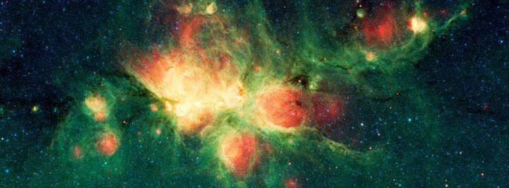 Close Up Cat's Paw Nebula NGC 6334 - Yvonne