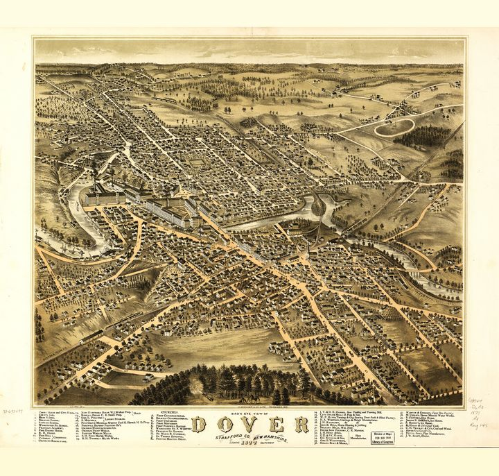 Dover, New Hampshire (1877) - Yvonne