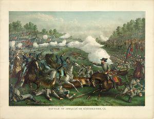 Civil War Battle of Opequan 1864