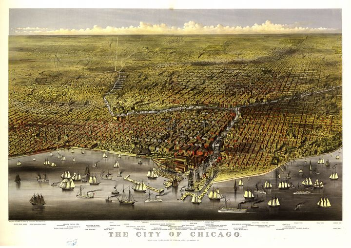 The City of Chicago, Illinois (1874) - Yvonne