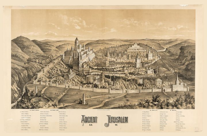 Ancient Jerusalem, A.D. 65 - Yvonne