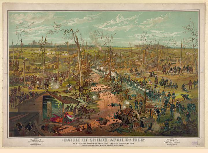 Civil War Battle of Shiloh 1862 - Yvonne