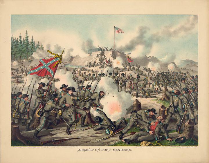 Assault on Fort Sanders Nov. 29 1863 - Yvonne