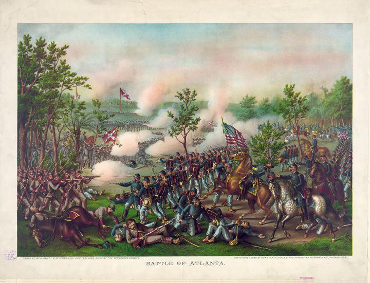 Civil War Battle of Atlanta (1864) - Yvonne