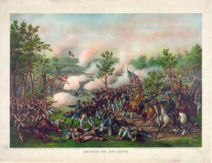 Civil War Battle of Atlanta (1864)
