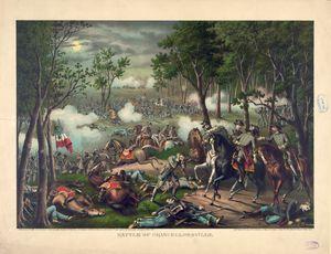 Civil War Battle of Chancellorsville