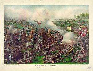 Battle of Five Forks April 1st 1865