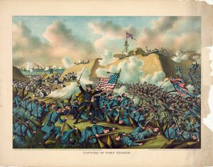 Civil War Capture of Fort Fisher
