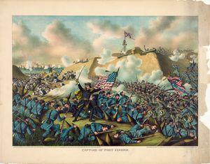Civil War Capture of Fort Fisher