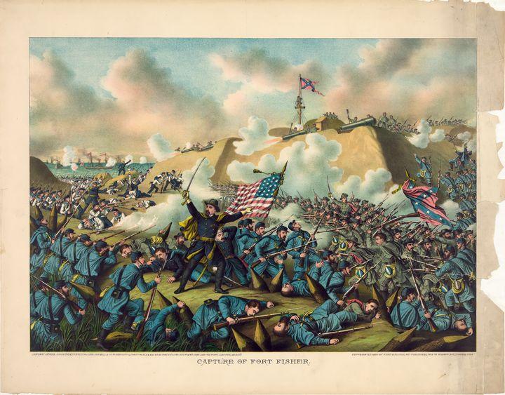 Civil War Capture of Fort Fisher - Yvonne