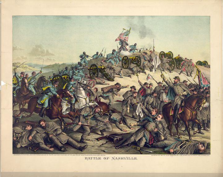 Civil War Battle of Nashville 1864 - Yvonne