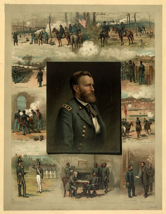 Grant from West Point to Appomattox - Yvonne