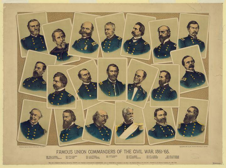 Famous Union Commanders Civil War - Yvonne