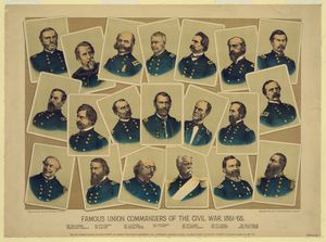 Famous Union Commanders Civil War