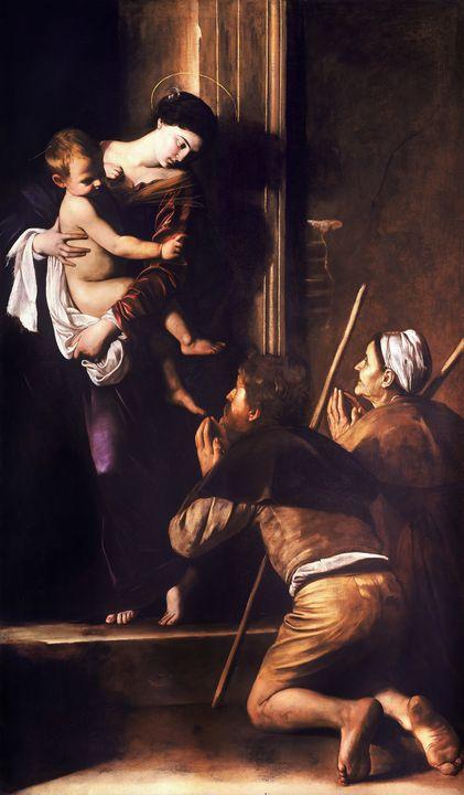 Madonna di Loreto by Caravaggio - Yvonne